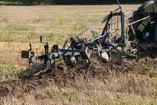 Free Vintage Plough. Stock Photo - 27709420