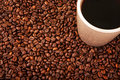 Free Coffe And Beans Royalty Free Stock Images - 27712819