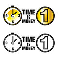 Free Time Is Money Stock Photo - 27717720