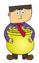 Free Dollar Pot Stock Photography - 27718822