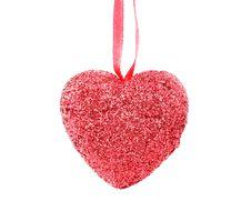 Free Christmas Heart Stock Image - 27710551