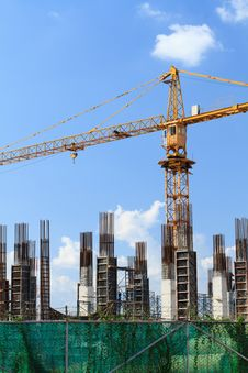 Tower Crane. Stock Image