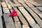 Free Bougainvillea [ Paper Flower] On The Wooden Floor. Royalty Free Stock Photo - 27719025