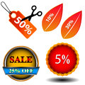 Free Sale Logo Set Stock Photos - 27722803