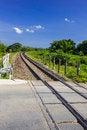 Free Curve Railway Track Stock Image - 27725811