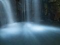 Free Waterfall Splash Pool In The Morning Stock Photos - 27727993