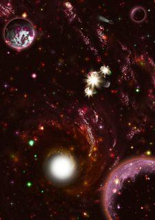 Free Deep Space Galaxy Stock Image - 27720521
