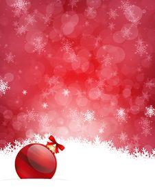 Free Christmas Background Royalty Free Stock Image - 27721186