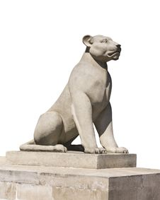 Free Culpture Of A Lioness. Stock Photos - 27722153