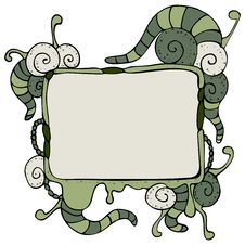 Free Speech Bubble With Tentacles Stock Photography - 27725032