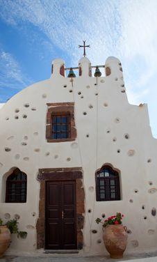 Free Church Santorini, Greece Stock Images - 27729154