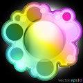 Free Colorul Music Bubble Editable Frame Label Vector Stock Photo - 27731720