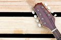 Free Mandolin Headstock Background Stock Image - 27733261