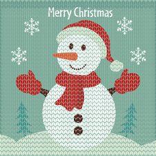 Free Christmas  Snowman Stock Photos - 27730913