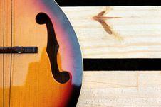 Free Vintage Mandolin Background Royalty Free Stock Photography - 27733297