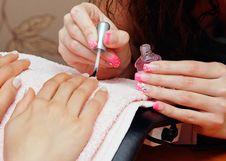 Free Nail Polish Stock Images - 27735054