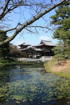Free Byodoin Phoenix Hall Temple, Uji, Kyoto Japan Stock Photography - 27735362