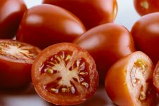 Free Group Of Sliced Tomato Stock Images - 27736254