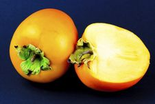 Free Sharon Fruit Portrait Stock Image - 27736271