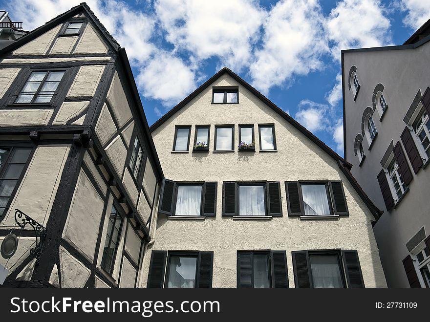 German houses in Ulm