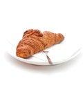 Free Croissants Royalty Free Stock Photo - 27740275