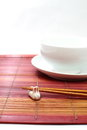 Free Chopsticks In Asian Set Table Stock Image - 27740301