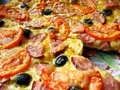Free The Tasty Appetizing Pizza Stock Images - 27740714
