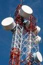 Free Telecommunications Towers Royalty Free Stock Photo - 27744435
