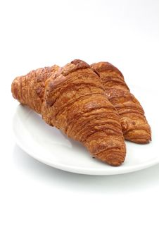 Free Croissants Royalty Free Stock Photos - 27740198