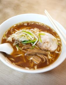 Japanese Noodle, Ramen Royalty Free Stock Image