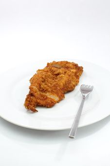 Free Fried Chicken Royalty Free Stock Photo - 27740755