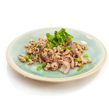 Free Spicy Minced Pork Salad , Thai Food Stock Photos - 27740763