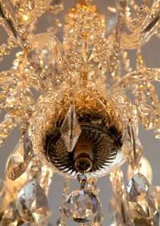 Free Modern Chandelier Stock Image - 27742411