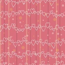 Free Love Pattern Royalty Free Stock Photo - 27742795