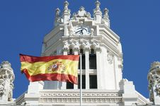 Free Palacio De Cibeles Royalty Free Stock Photography - 27743967