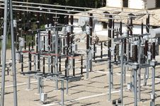 Free Electrical Substation Royalty Free Stock Photo - 27744405