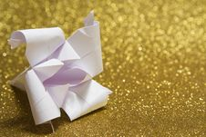 Free Origami Lily Stock Photo - 27744940
