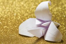 Free Origami Lily Royalty Free Stock Photos - 27744948