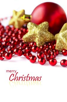 Free Christmas Decoration Royalty Free Stock Photography - 27748057