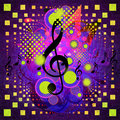 Free Music Background With Notes Royalty Free Stock Photo - 27751235