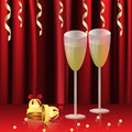 Free Glasses With Champagne Stock Image - 27753751