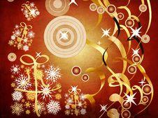 Free Grunge Christmas Background Royalty Free Stock Image - 27751216
