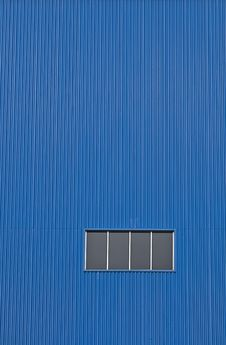 Factory Window Royalty Free Stock Images