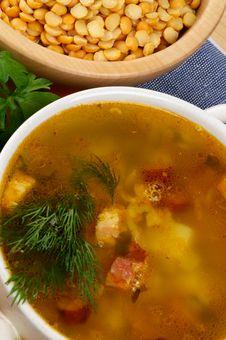 Free Pea Soup Stock Image - 27751571