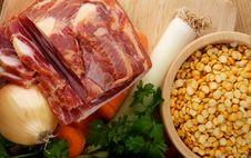 Making Pea Soup Royalty Free Stock Image