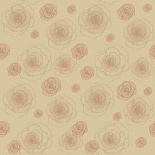Free Vintage Seamless Pattern Royalty Free Stock Images - 27757879