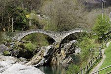 Ponte Dei Salti Stock Images