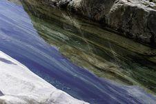 Verzasca River Colours Stock Images