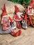 Free Three Christmas Rag Dolls Royalty Free Stock Photography - 27758557
