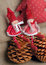 Free Two Christmas Rag Dolls Stock Photo - 27758580